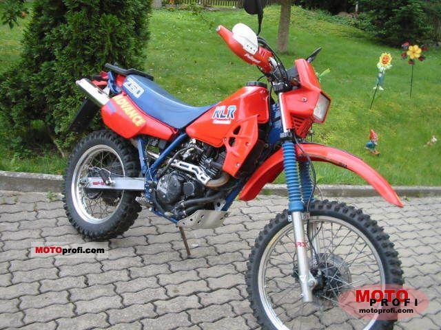 Kawasaki KLR 250 1986 photo