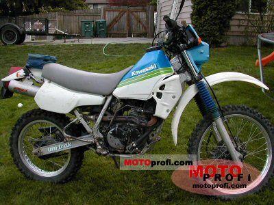 Kawasaki KLR 250 1989 photo