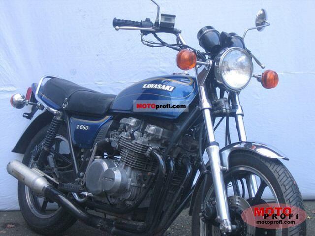 Kawasaki Z 650 C 1978 photo