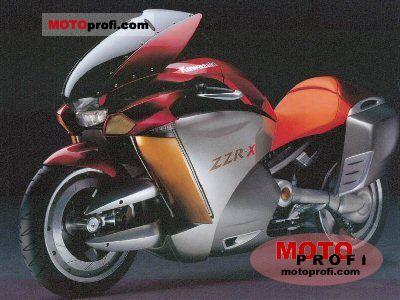 Kawasaki ZZR-X 2004 photo