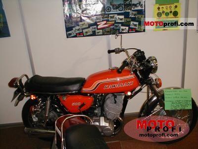 Kawasaki 500 H 1 Mach III 1973 photo