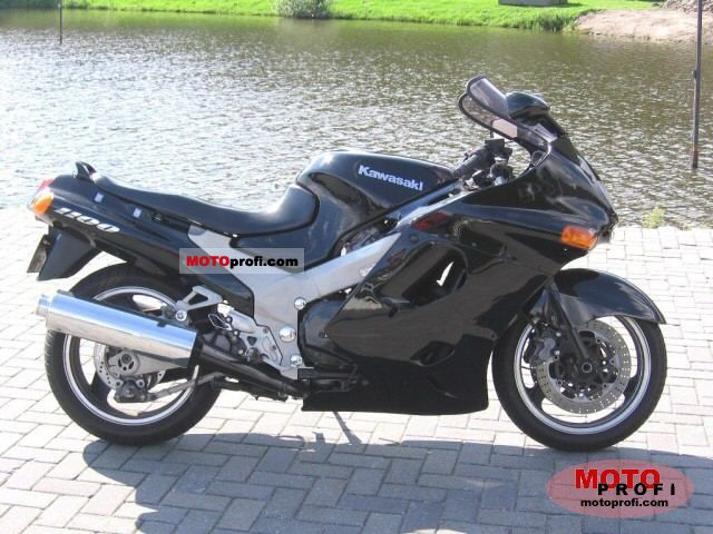 Kawasaki ZZR 1100 1995 Specs and Photos