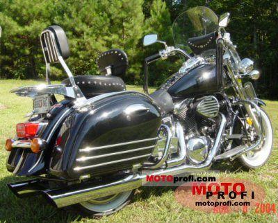 Kawasaki VN 1500 Classic Tourer Fi 2000 photo