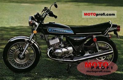 Kawasaki KH 400 1975 photo