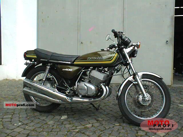 Kawasaki KH 400 1976 photo
