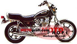 Kawasaki GPZ 550 1981 photo