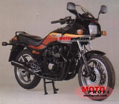 Kawasaki GPZ 550 1988 photo