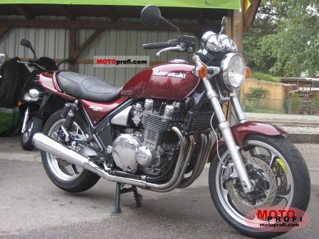 Kawasaki Zephyr 1100 1996 Specs And Photos