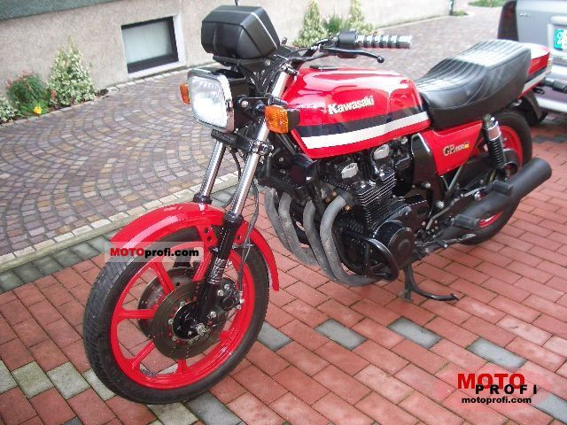 Kawasaki GPZ 1100 1982 photo