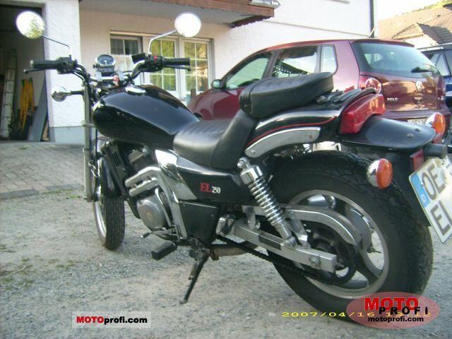 Kawasaki EL 250 1989 photo