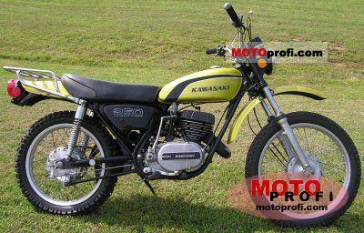 Kawasaki 250 F 11 1974 photo