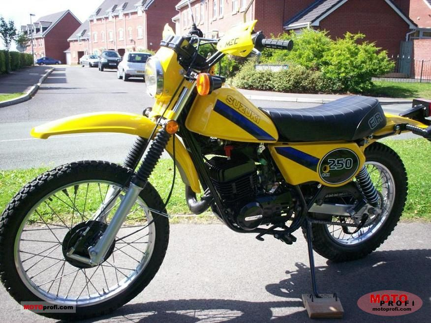 suzuki ts 250 er 1981 specs and photos
