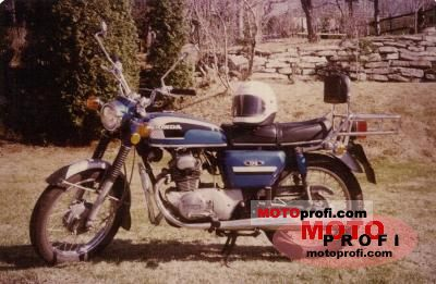Honda CB 175 1971 photo
