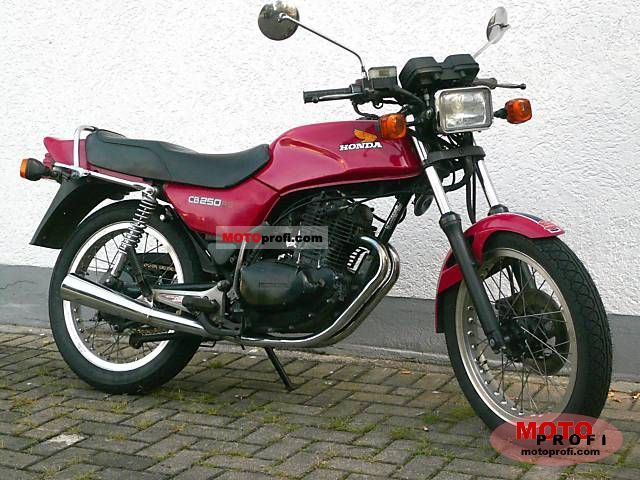 Cb250 Owners Manual