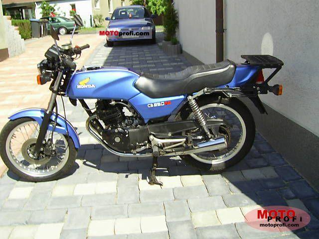 Honda CB 250 RS 1984 photo