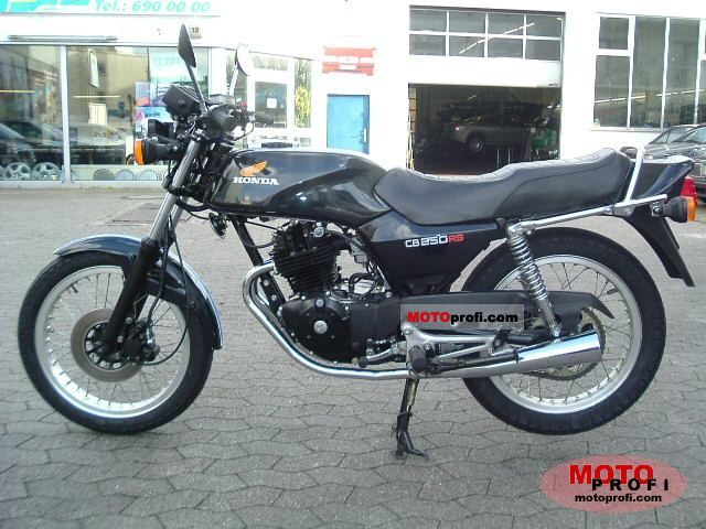 Honda CB 250 RS 1985 photo