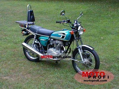Honda CB 360 disc 1974 photo