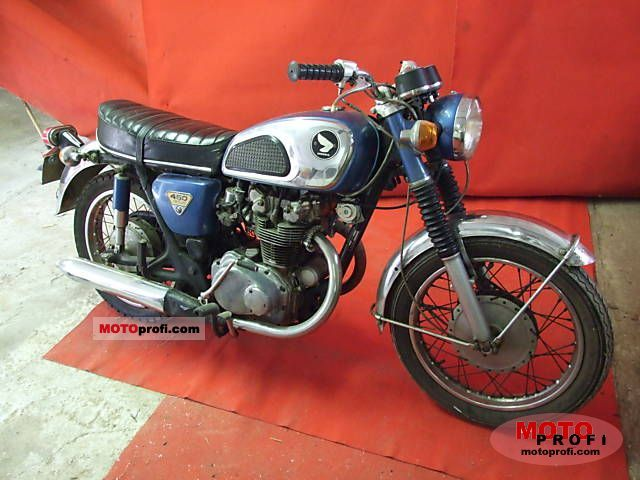 Honda CB 450 K 1 1971 photo
