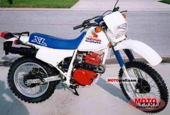 Honda XL 250 R 1986 photo