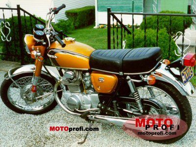 Honda CB 350 1971 photo