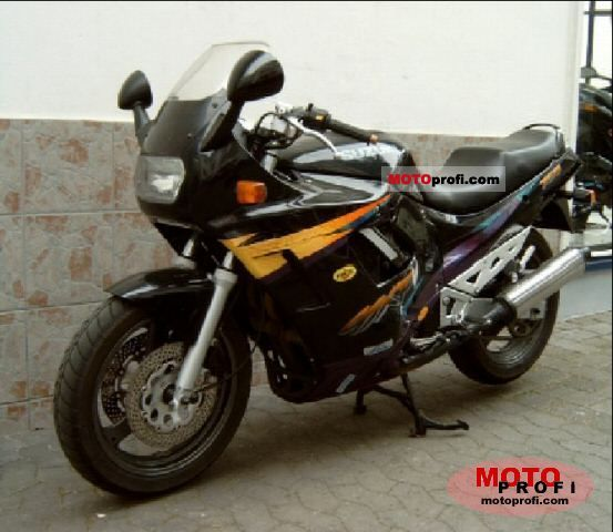 Suzuki Gsx 750 F 1998 Specs And Photos