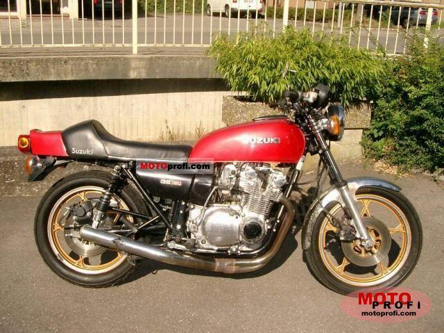 Suzuki GS 75... Ducati 748 Specs