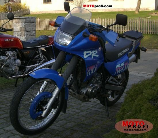 suzuki dr 650 rse 1995 specs and photos. Black Bedroom Furniture Sets. Home Design Ideas