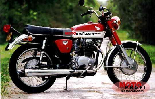 Honda CB 350 1972 photo