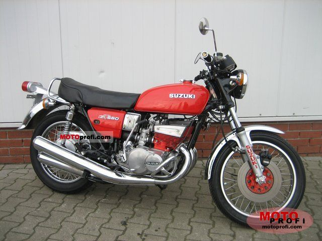 Suzuki GT 550 1978 photo
