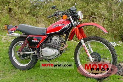 Honda XL 250 S 1981 photo