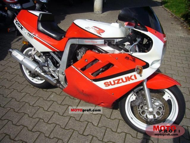 Suzuki GSX-R 750 1989 Specs and Photos