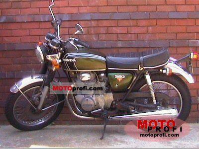 Honda CB 350 1973 photo