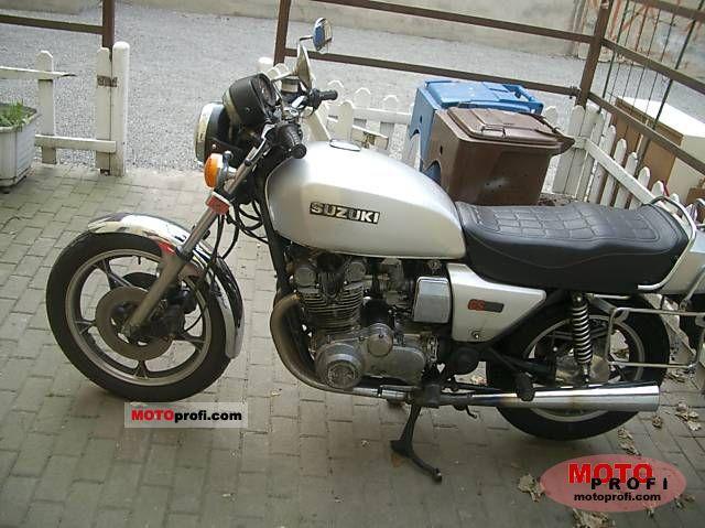 Suzuki GS 850 G 1981 Specs and Photos