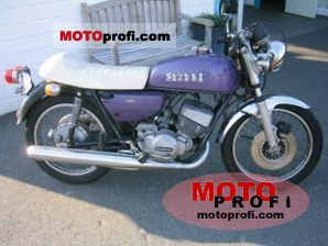 Suzuki GT 250 1974 photo