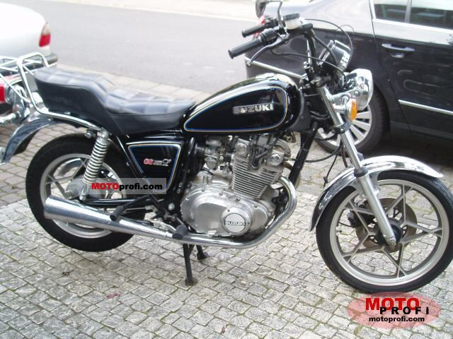 Suzuki gs 450 l 1980 specs and photos