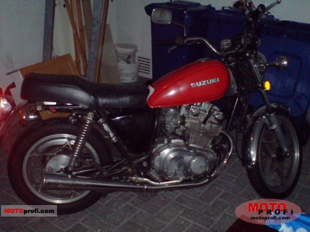 Suzuki GS 450 L 1985 photo