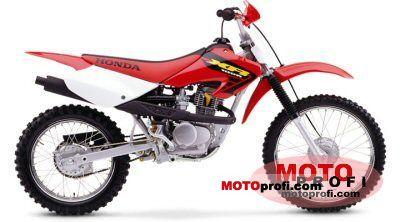 Honda Xr 100 R 2004 Specs And Photos