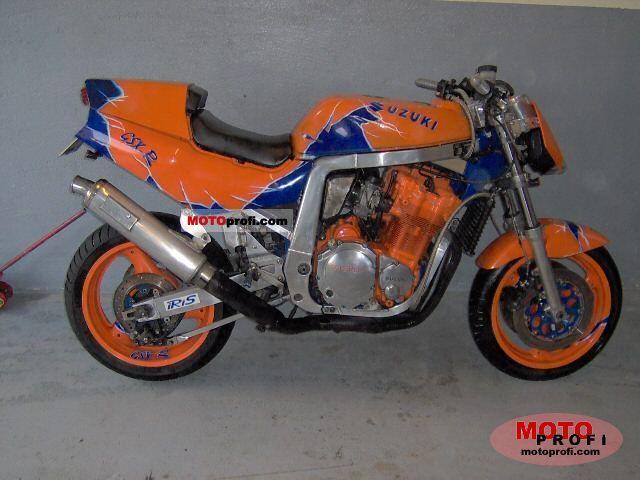 Suzuki GSX-R 1100 1990 Specs and Photos