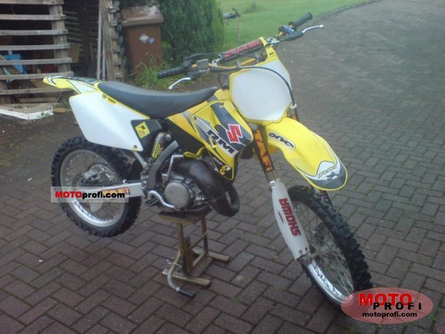 rm 125 Specs 2003 Suzuki rm 125 2003