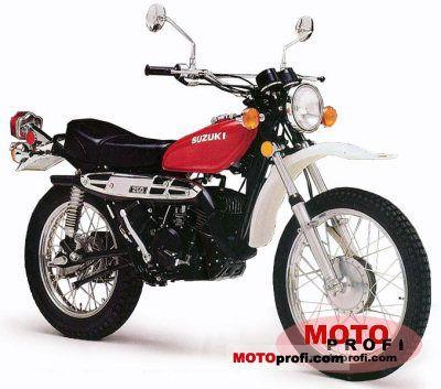 Suzuki TS 250 1976 photo