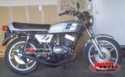 Yamaha RD 400 1978 photo