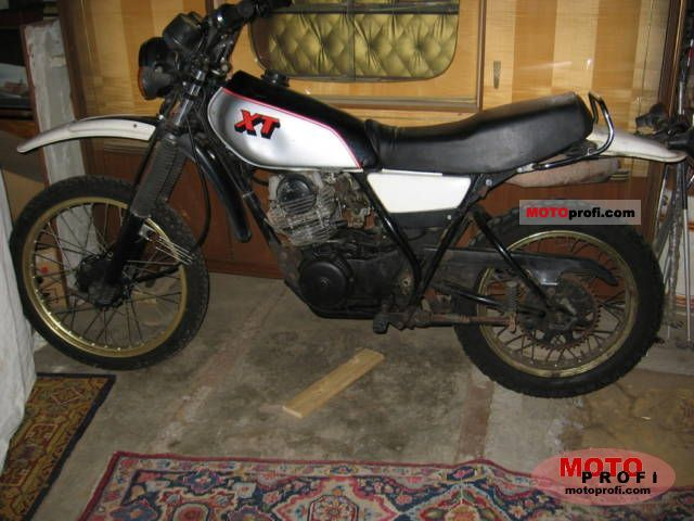 Yamaha XT 250 1980 photo