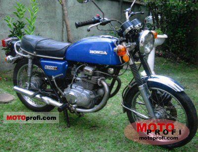 Honda CB 200 disc 1976 photo