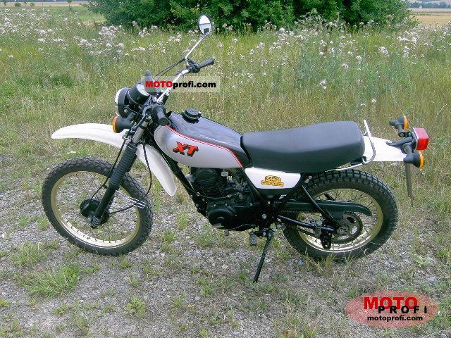 Yamaha XT 250 1982 photo