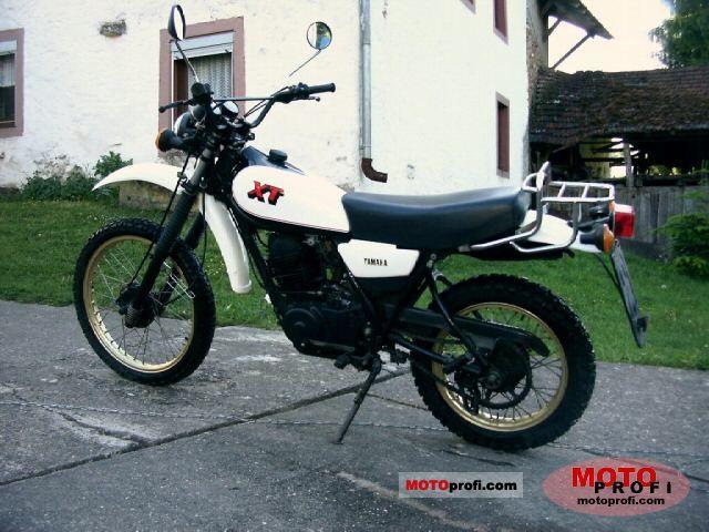 Yamaha XT 250 1983 photo