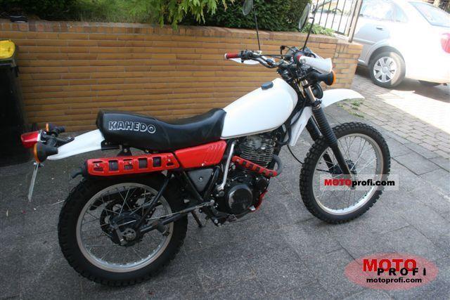 Yamaha XT 250 1987 photo