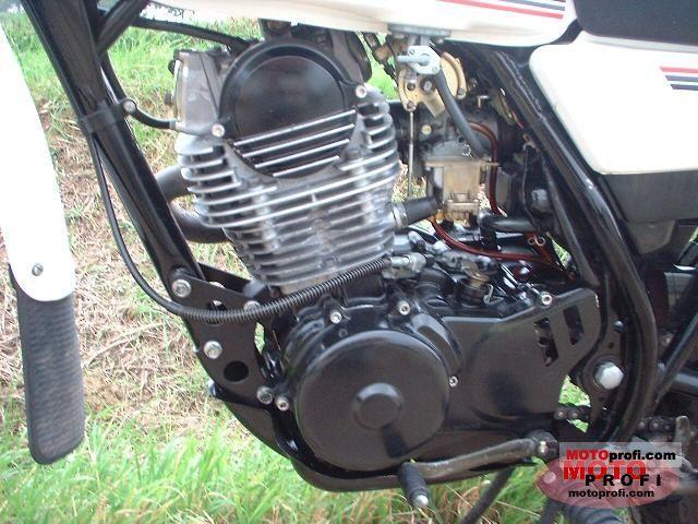 Yamaha Xt 250 1988 Specs And Photos
