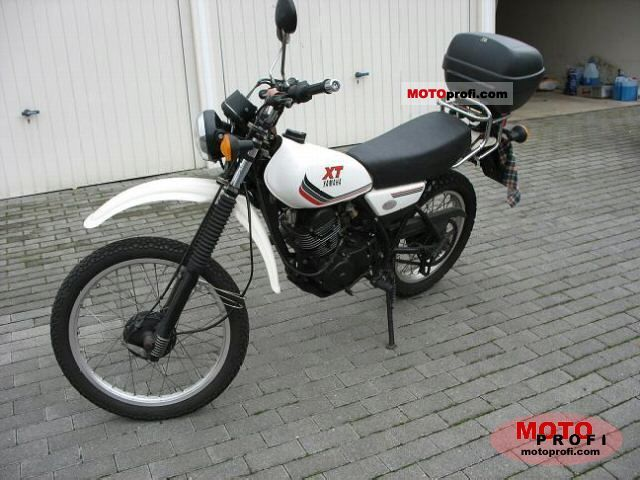 Yamaha XT 250 1990 photo