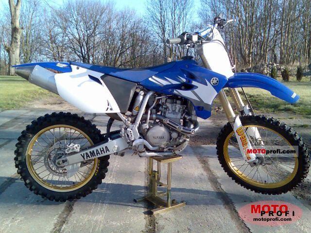 Yamaha YZ 450 F 2005 photo
