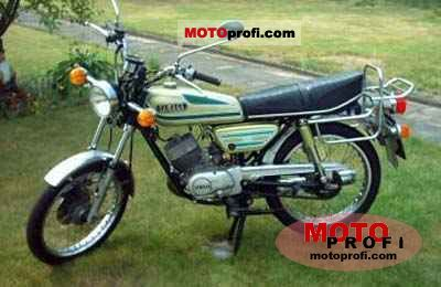 Yamaha RS 100 1975 photo